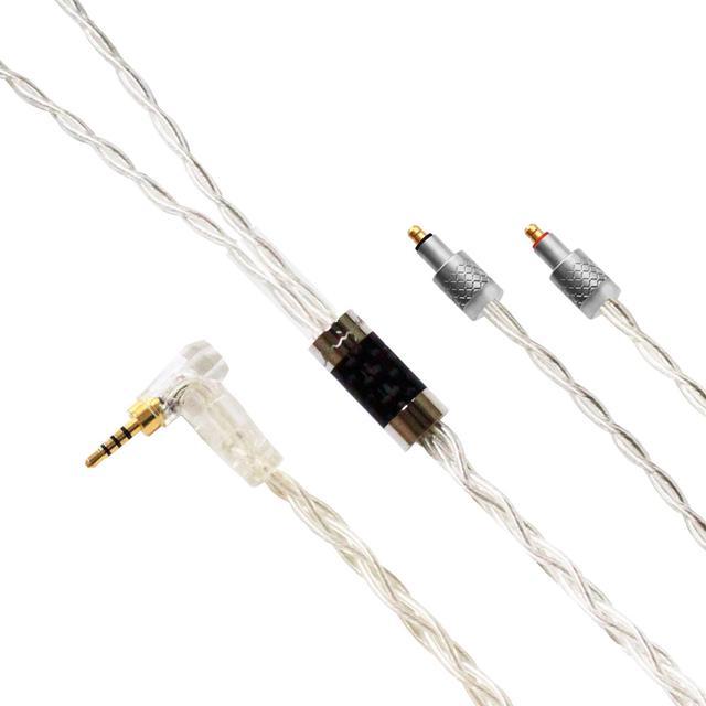 画像2: Luminox Audio、リケーブルの現行5シリーズに、Estron社純正T2コネクター搭載モデルを追加。9月3日よりe☆イヤホン限定で発売。プラグは各3.5mm、2.5mm、4.4mmをラインナップ