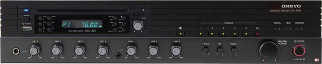 画像1: オンキヨーデジタルソリューションズ、施設向け5ゾーン対応オールインワンミキシングアンプ「ICA1240MS」を発売