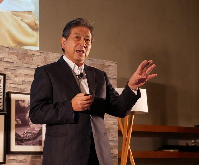 画像: J:COMのこれからのビジョンを語る石川雄三会長