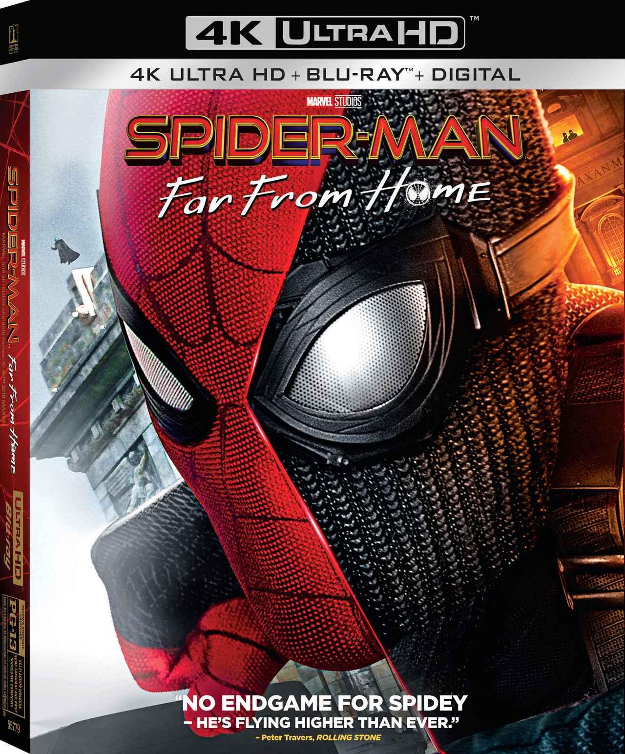 画像1: 新生スパイダー・マン・シリーズ第2弾『スパイダーマン:ファー・フロム・ホーム』【海外盤Blu-ray発売情報】