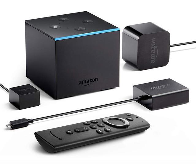 画像: アマゾンの「Fire TV Cube」が日本に登場。最大4K/60pのストリーミングや、Dolby Visionコンテンツへの素早いアクセスを実現する。発売は11月5日の予定