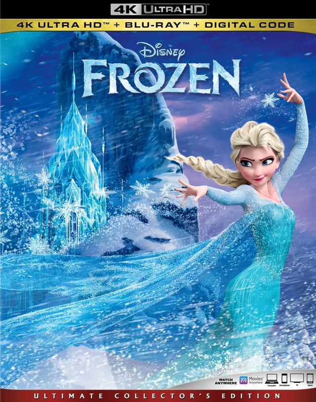 画像1: 大人気ディズニー・メガヒット・アニメーション『アナと雪の女王』【海外盤Blu-ray発売情報】