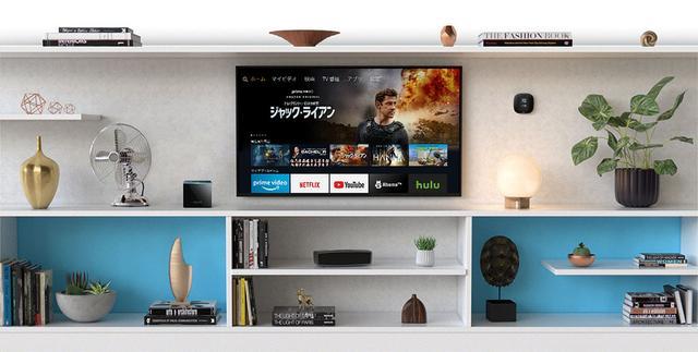 画像: Fire TV Cubeの使用イメージ