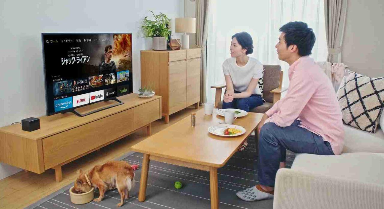 画像: Amazon.co.jp: 新登場 Fire TV Cube - 4K・HDR対応、Alexa対応音声認識リモコン付属: Kindleストア