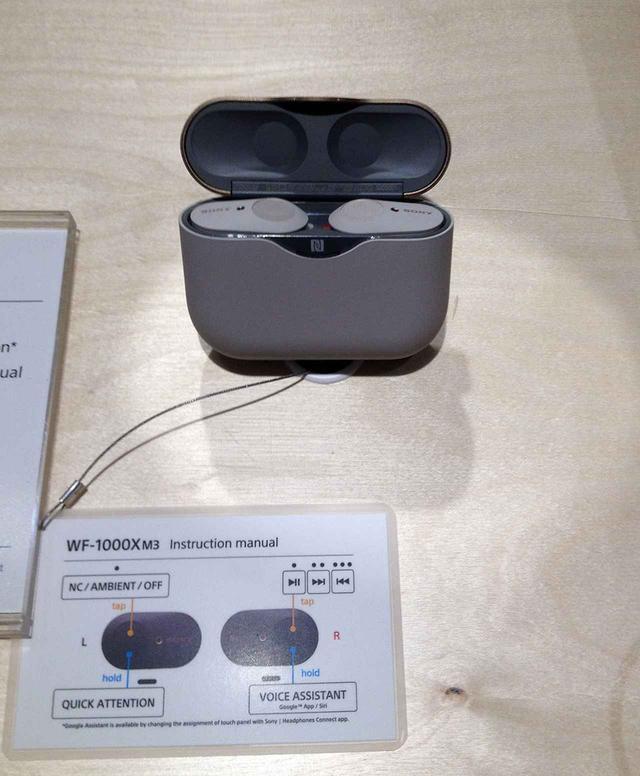 画像: 既発売の完全ワイヤレスモデル「WF-1000XM3」