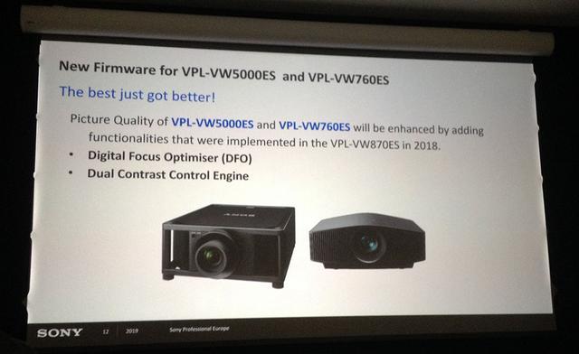 画像2: ソニーブースからプロジェクター展示が消えた! しかし「IMAX Enhanced」ブースでデモを発見してひと安心。ファームウェアアップデートもあり【御法川裕三のIFA2019散策 その14】