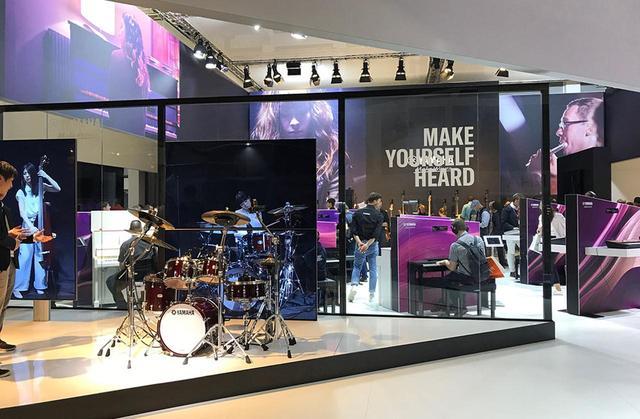 画像4: ヤマハは「プレイ、リッスン」を標榜し、オーディオ機器から楽器まで幅広く展示。企業としての奥深さをアピールした【御法川裕三のIFA2019散策 その12】