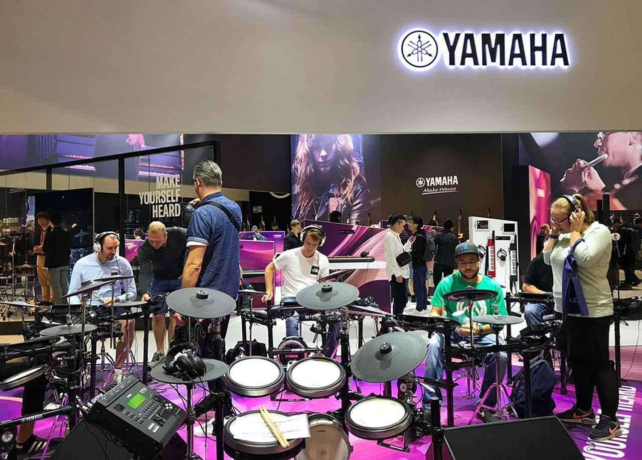 画像3: ヤマハは「プレイ、リッスン」を標榜し、オーディオ機器から楽器まで幅広く展示。企業としての奥深さをアピールした【御法川裕三のIFA2019散策 その12】