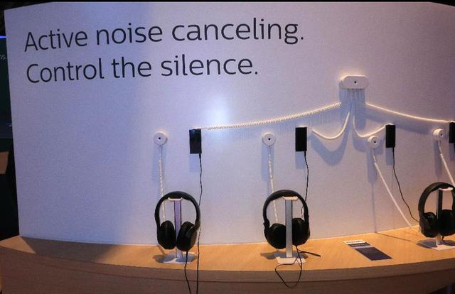 画像: Philipsブランドのノイズ・キャンセリングヘッドホン