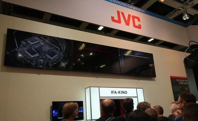 画像: IFAの1号館に陣取ったJVCケンウッドの特設シアター