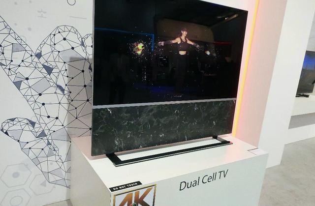 画像: 中国TCLの「デュアルセル」液晶ディスプレイ