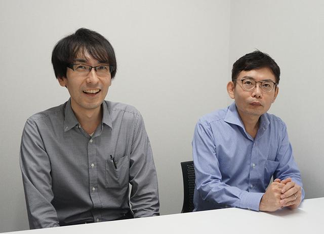 画像: インタビューに協力いただいたおふたり。グランドシネマサンシャイン 支配人の下井一洋さん(右)と、営業主任の菊池 元さん(左)