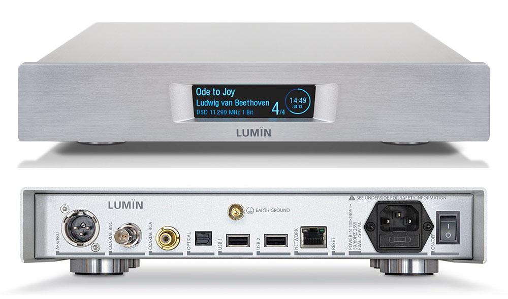"""画像: LUMINのネットワークプレーヤー「U1 MINI」を自室で体験し、そのパフォーマンスに驚いた。メリディアンDACとの""""ネットワークオーディオ時代の新黄金の組合せ""""も堪能!"""