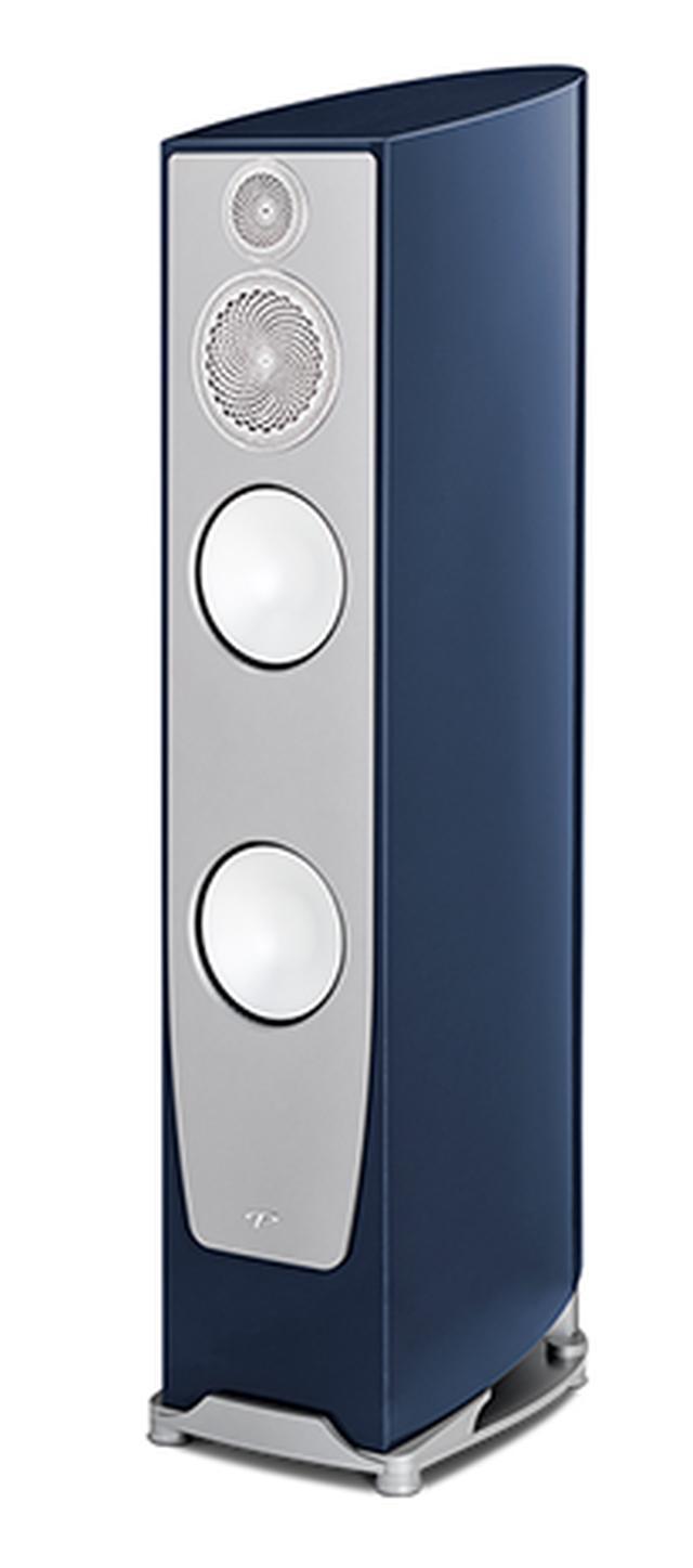 画像: パラダイム Persona 7F ¥4,800,000(ペア、税別) 3ウェイ4スピーカー・バスレフ型。中・高域ユニットにベリリウム振動板を、2つの低域ユニットにアルミ振動板を採用する、カナダ生まれの本格フロアー型スピーカーシステム pdn.co.jp