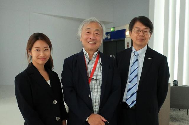 画像: テクニクスCTOの井谷氏(右)とサウンドバー設計のパナソニック・アプライアンス社オーディオ技術部主任技師の北戸英里氏(左)