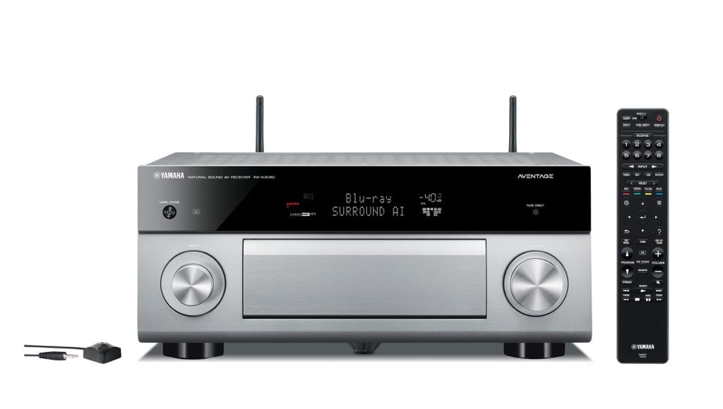 画像: アベンタージュシリーズのAVセンターは、その第一世代である2011年発売のRX-A3010以来、外観デザインを基本的に継承している。ただしその内容は絶えず進化している。シーン適応型音場創生技術「SURROUND:AI」を搭載している