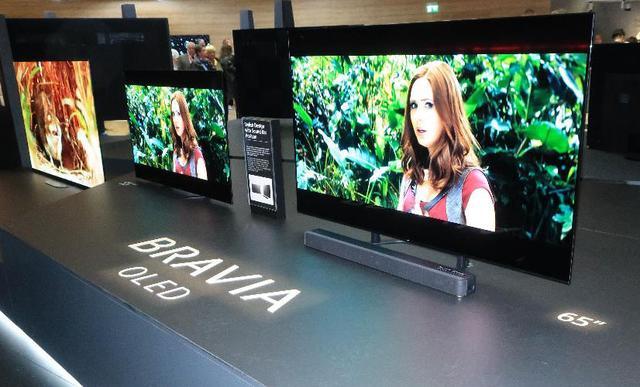 画像: ソニーの有機ELテレビは65型、2500ユーロ以上の市場で40%以上のシェアを獲得している