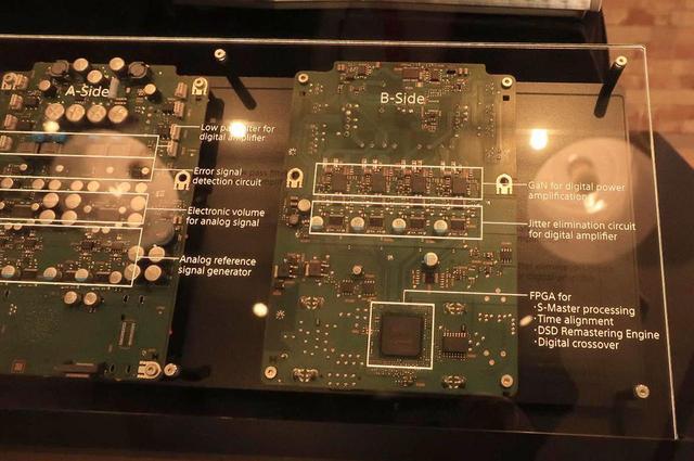 画像: 回路部。アナログのリファレンス信号発生部、FPGA部が分かる
