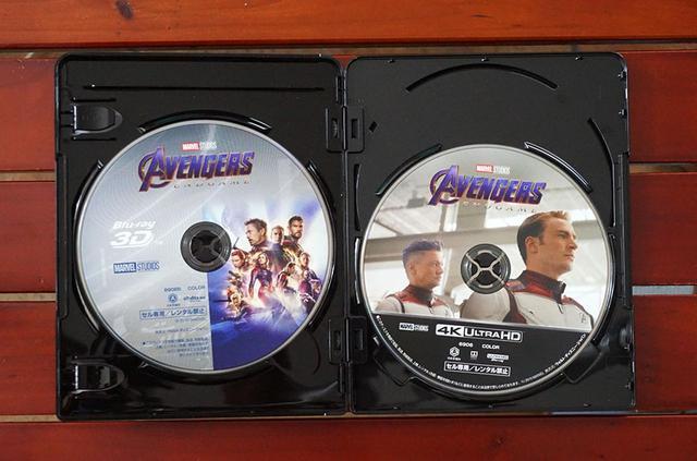 画像: 9月4日発売された『アベンジャーズ/エンドゲーム』は、MovieNEX(¥4,200、税別)と4K UHD MovieNEX(¥8,000、税別)、4K UHD MovieNEXプレミアムBOX(¥10,000、税別、数量限定)の3種類が準備されている。写真は今回視聴した4K UHD MovieNEX