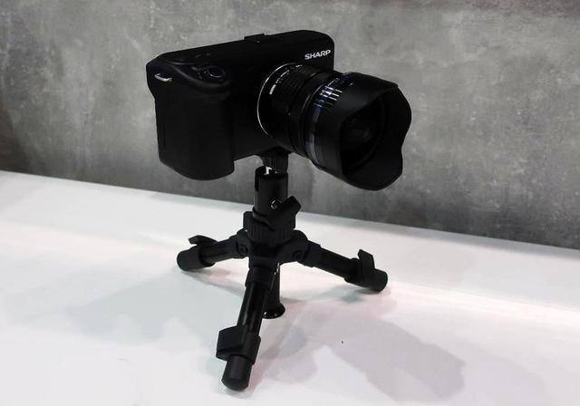 画像: マイクロ・フォーサースフォーマットの8Kビデオカメラ。プロシューマーへの贈りもの
