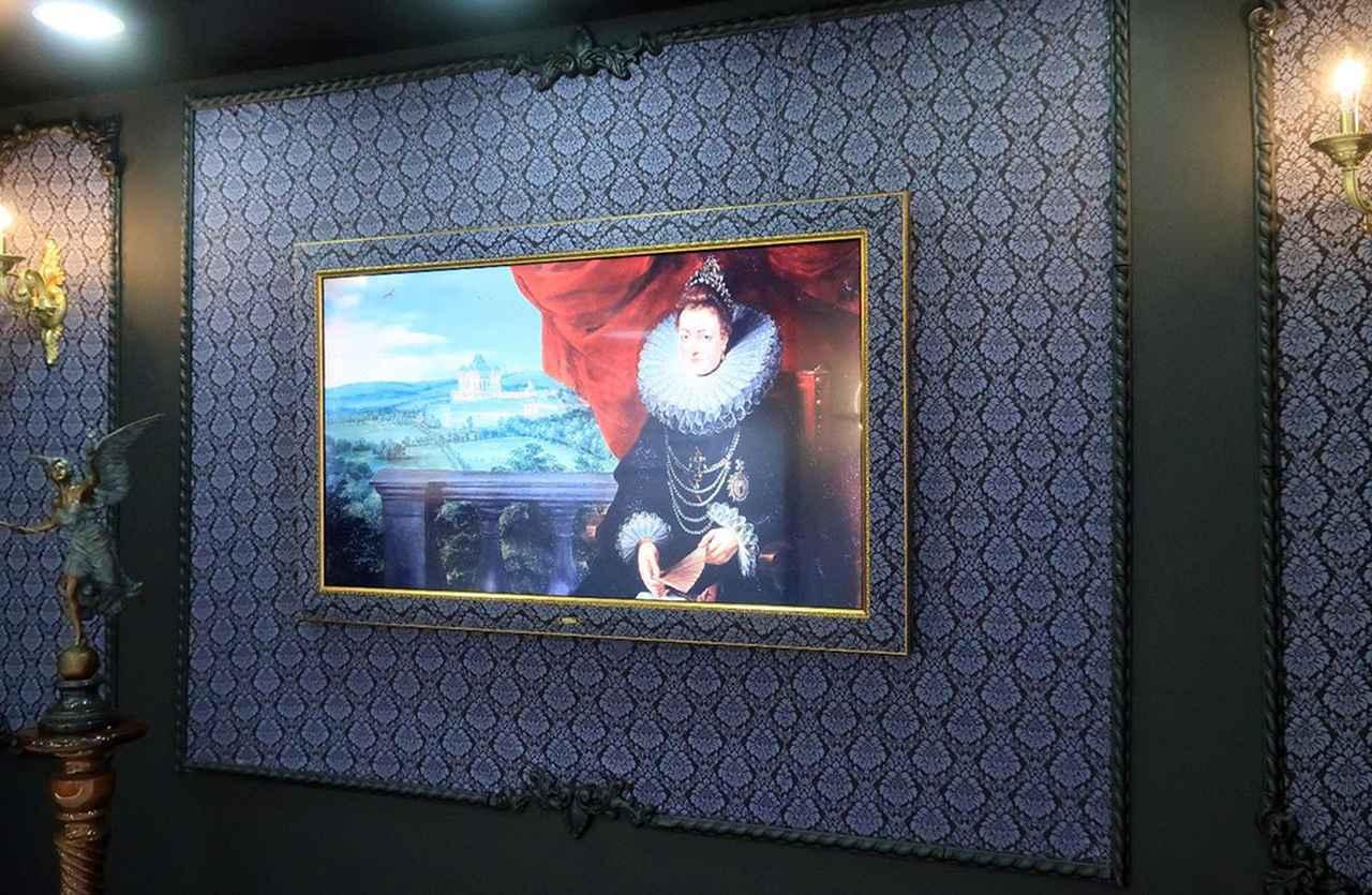 画像: 泰西名画を飾るテレビ・ギャラリー