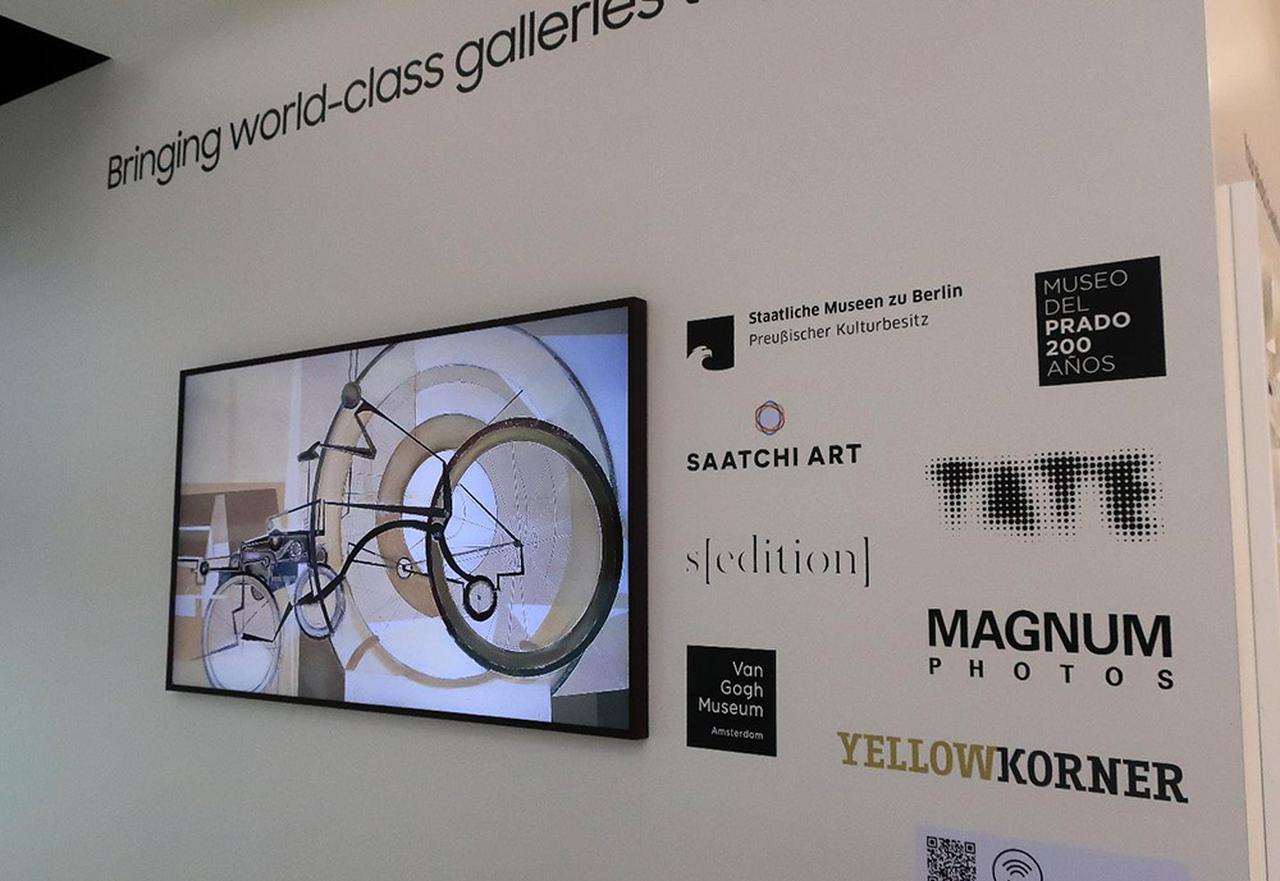 画像4: 三星電子、Samsung Electronicsのデザインテレビ「Serif」 とアートギャラリーテレビ「The Frame」