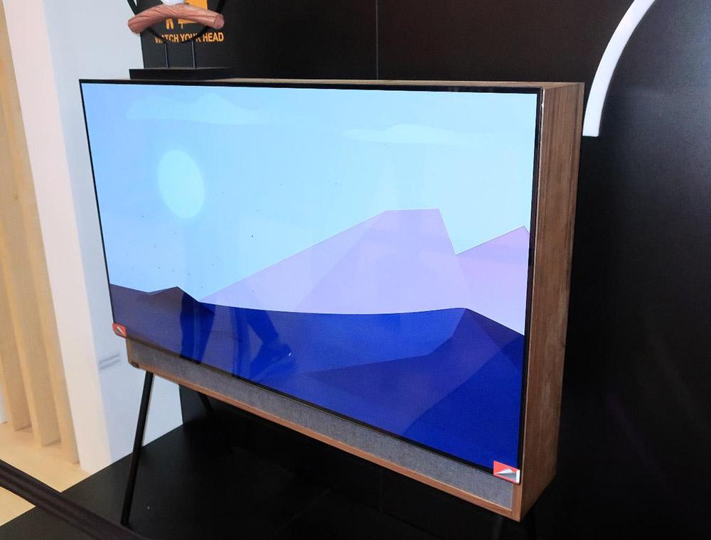 画像3: 中国の長虹Changhongは、ダブルスクリーンテレビとアートテレビ