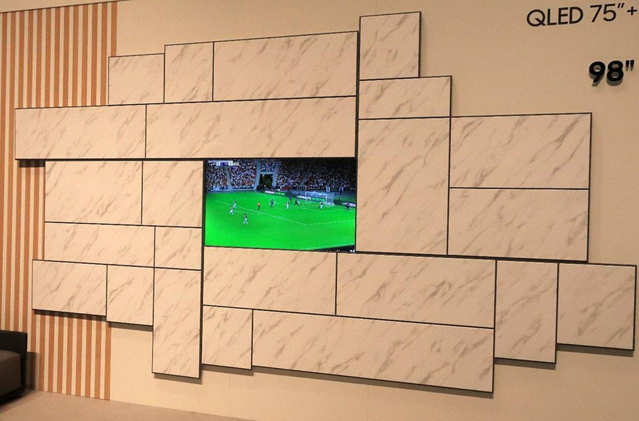 画像9: 三星電子、Samsung Electronicsのデザインテレビ「Serif」 とアートギャラリーテレビ「The Frame」