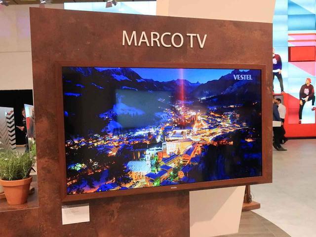 画像: MARCOTVとブランディングされたデザインテレビ