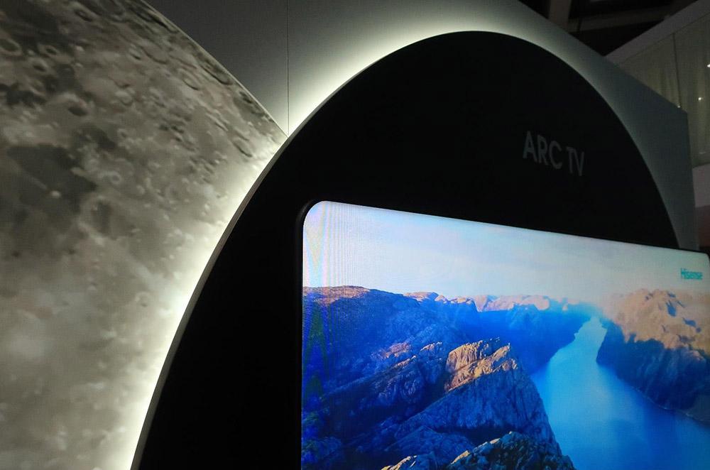 画像2: 中国の海信Hisense、は「月」がテーマ