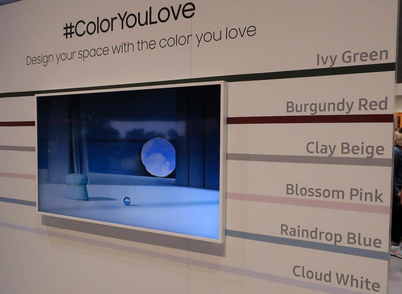 画像7: 三星電子、Samsung Electronicsのデザインテレビ「Serif」 とアートギャラリーテレビ「The Frame」