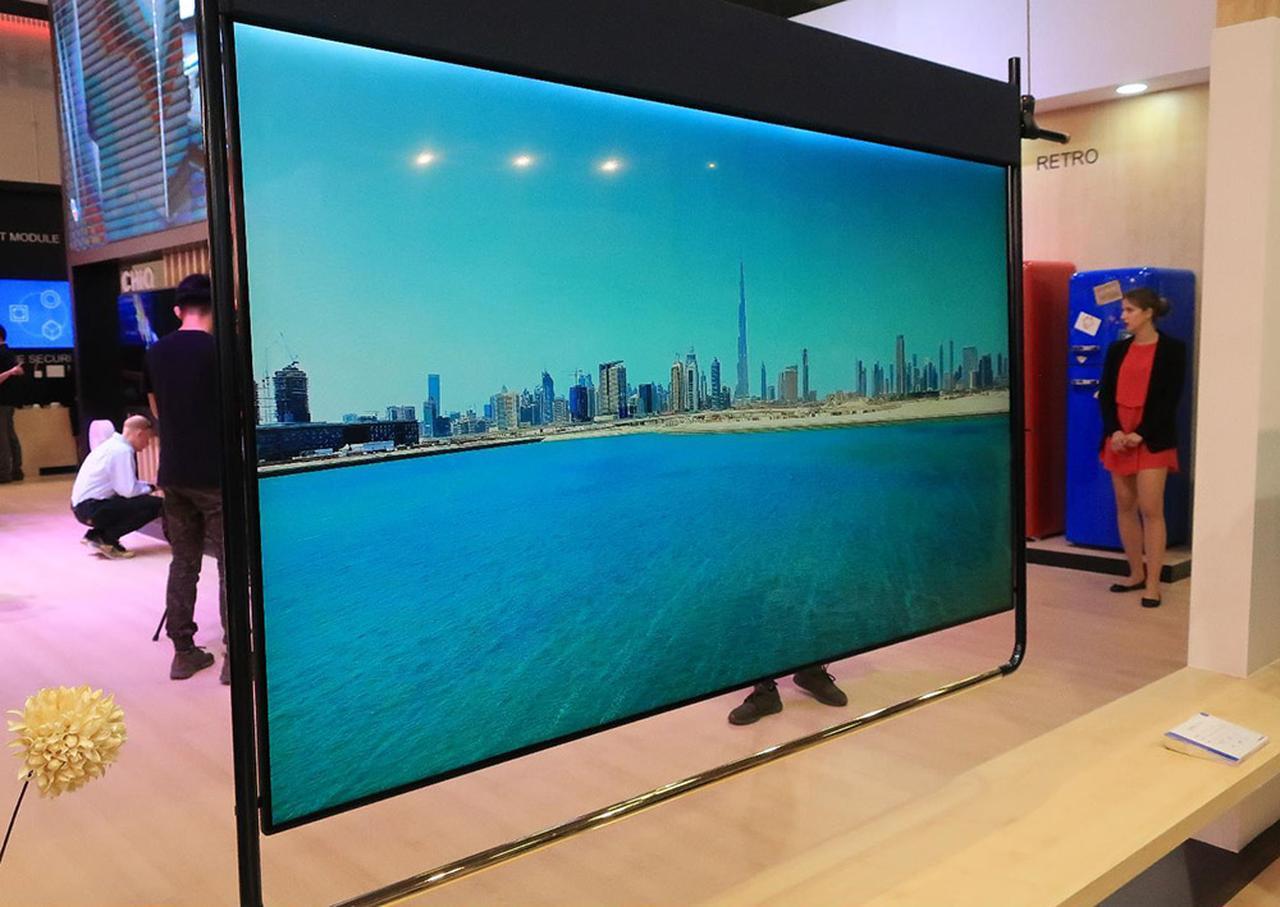 画像2: 中国の長虹Changhongは、ダブルスクリーンテレビとアートテレビ