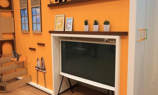 画像5: 三星電子、Samsung Electronicsのデザインテレビ「Serif」 とアートギャラリーテレビ「The Frame」