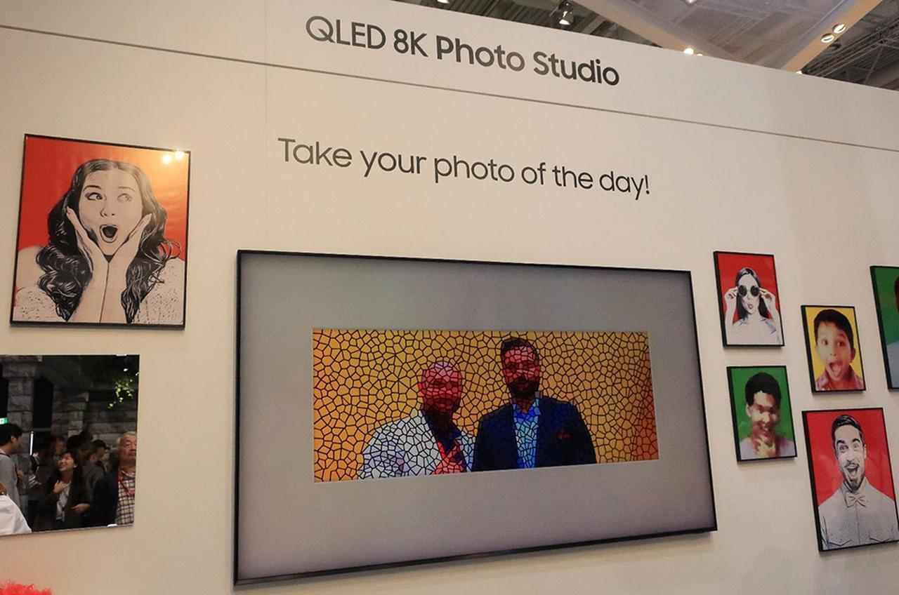 画像3: 三星電子、Samsung Electronicsのデザインテレビ「Serif」 とアートギャラリーテレビ「The Frame」
