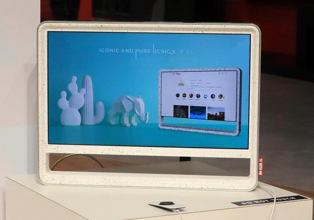 画像: コンパクトなデザインテレビ