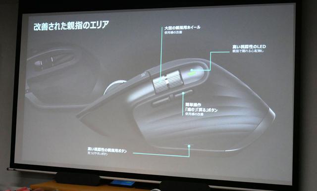 画像3: ロジクール、新機構のホイールで回転が滑らかなフラッグシップマウス「MX MASTER3 アドバンスド ワイヤレス マウス」を9月27日に発売。各種機能をショートカット登録できる便利機能もあり