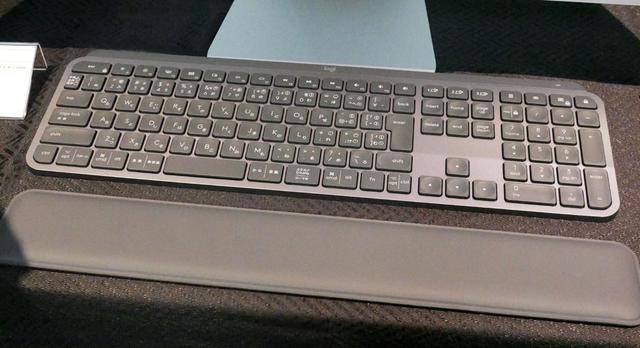 画像: MXキーボード(上)と「MXパームレスト」