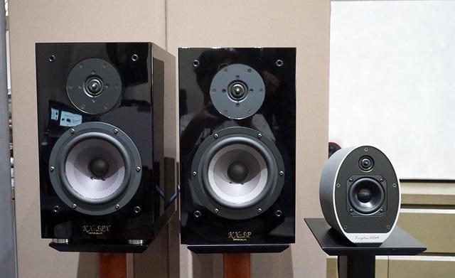 画像: 左から新製品「KX-5PX」、従来モデルの「KX-5P」、マルチメディアスピーカー「KS-9Multi+」