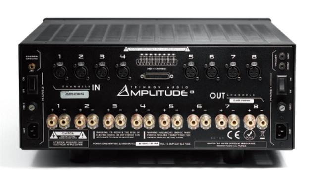 画像: フランスTRINNOV AUDIOの、8chパワーアンプに上位モデルが追加された。「Amplitude 8」は、225W×8chの出力を備え、シアターにもハイファイにも使える