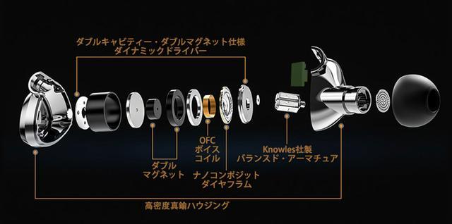 画像: SHANLING、同ブランド初のハイブリッドイヤホン「ME500」を9月27日に発売。ハイレゾ対応で、価格は35000円。MMCXでリケーブルも可能