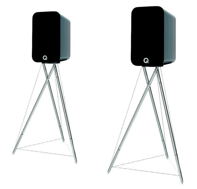 画像: 独特な形状のスタンドが付属する、Concept300は¥450,000(ペア、税別)