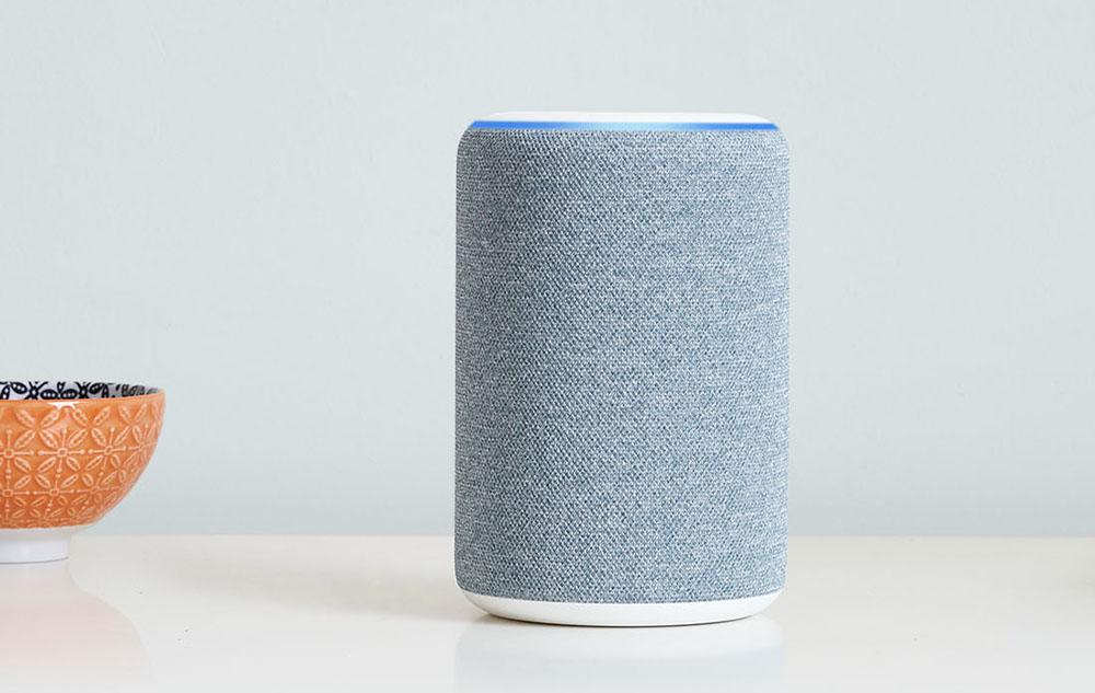 画像: Echo(第3世代)モデルは、4色の仕上げを準備