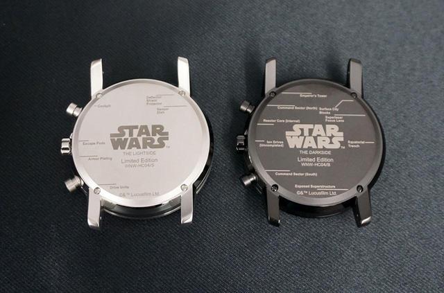 画像1: ソニー「wena wrist」に、日本初の『スター・ウォーズ』公式モデル「STAR WARS Limited Edition」が登場! 細部にまで気配りされた、ファンにも嬉しい仕上げは必見