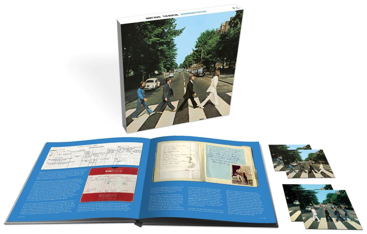 画像: 『アビイ・ロード(50周年記念スーパー・デラックス・エディション)』は3CD+1BD(オーディオ)で¥12,800+税。BDオーディオにはドルビーアトモス・ミックスを収録する