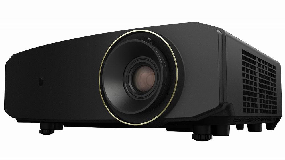 画像: 4K/HDR対応のDLPプロジェクター「LX-NZ3」。カラーリングはブラック(写真)とホワイトを用意