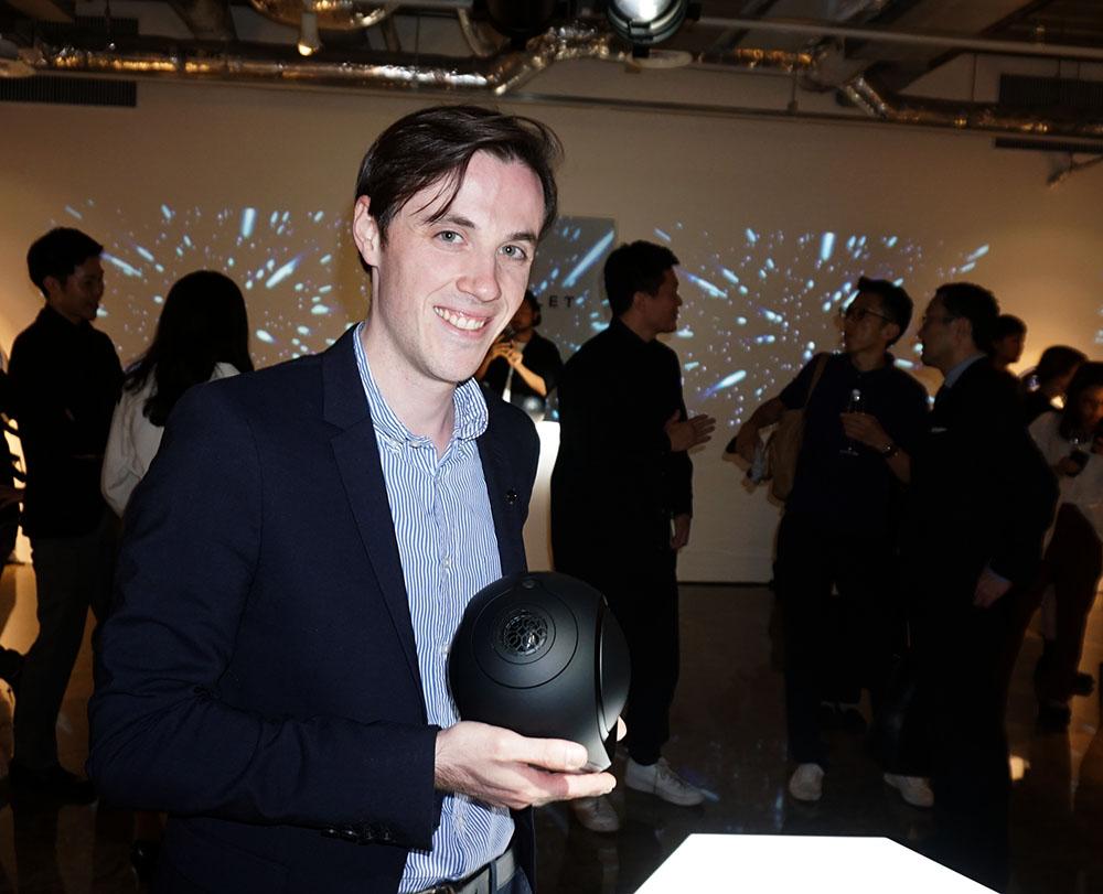 画像: Devialet Japanの事業開発マネージャー、ルカ・フェネック氏