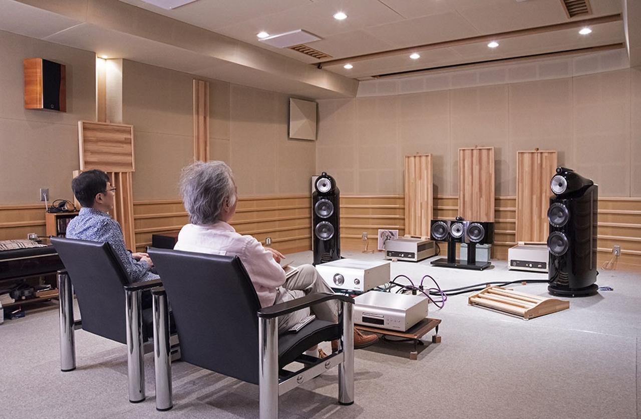 画像: インタビューと試聴は、山内さんがSX1 LIMITEDを開発した、まさにその試聴室で行なっている