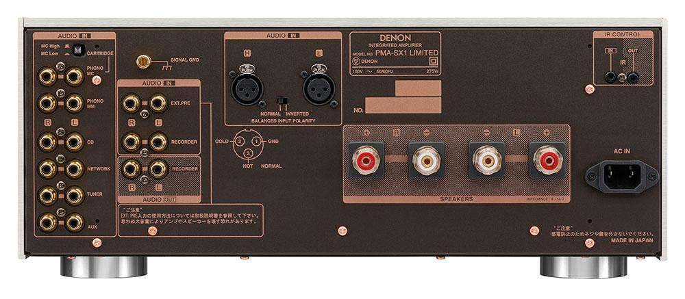 画像: PMA-SX1 LIMITEDの背面端子