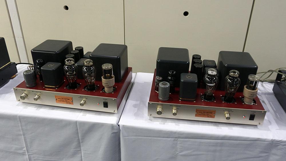 画像: サン・オーディオのモノーラルパワーアンプ「SV-TE/50TSX」