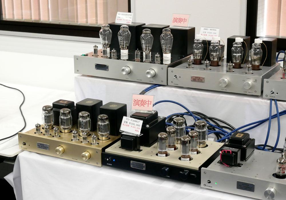 画像: ▲上段左端がパワーアンプ「AS-4300BVIPSP」
